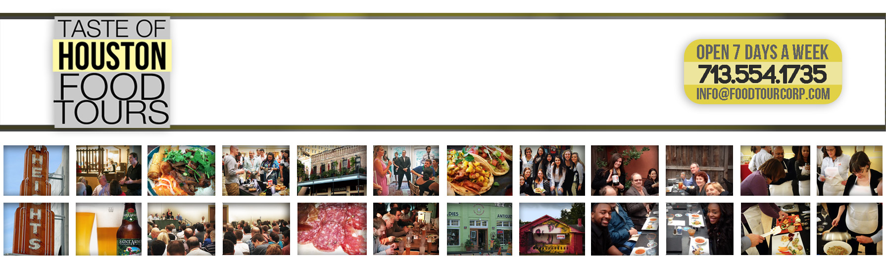 Houston Food Tours header